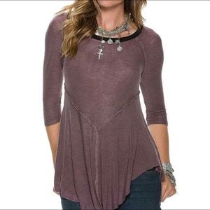Free People Weekends Layering Top Size M Mink